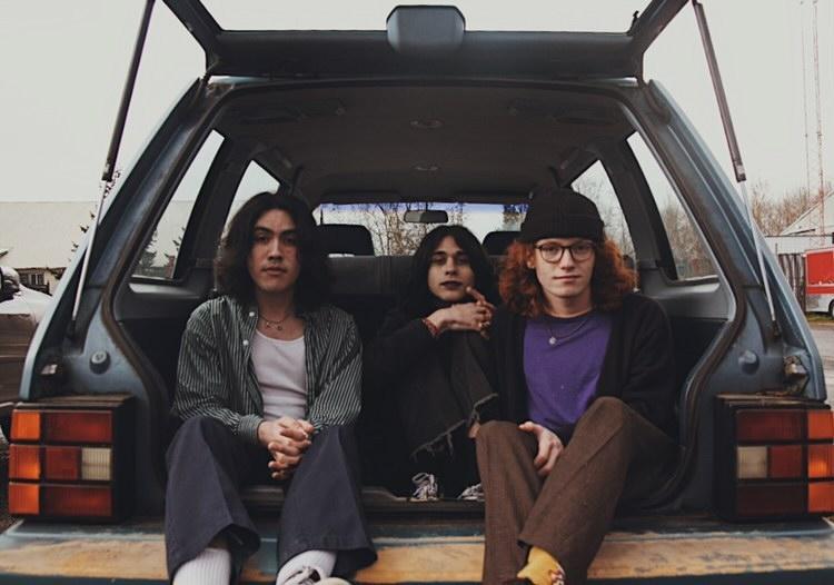 Noah Mandac, Luck Murray, Robin McAdoo (from left) Photo - Zoë Downer