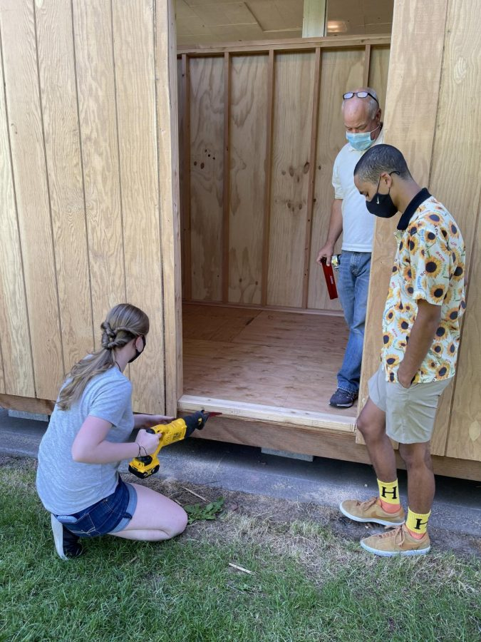 Woods and Metals Class Builds Community